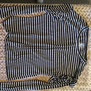 Black & white long sleeve